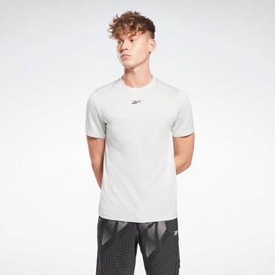 Reebok Workout Ready Mélange T-Shirt Mens Athletic T-Shirts