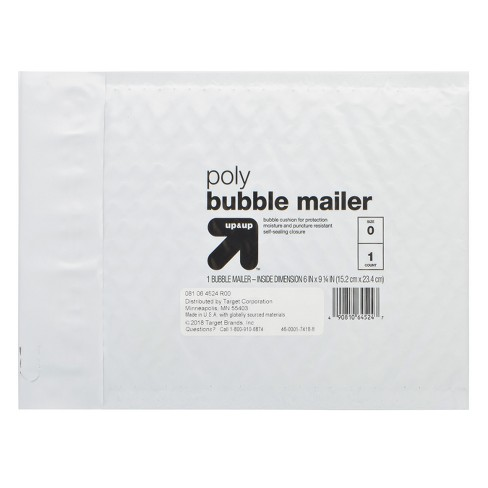 "Bubble Mailer 6"" x 9"" White - Up&Up™ - image 1 of 1"