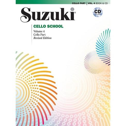 Suzuki Suzuki Cello School Book & CD Volume 4 (Revised) - image 1 of 1
