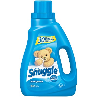 Snuggle Blue Sparkle Liquid Fabric Softener, 50oz