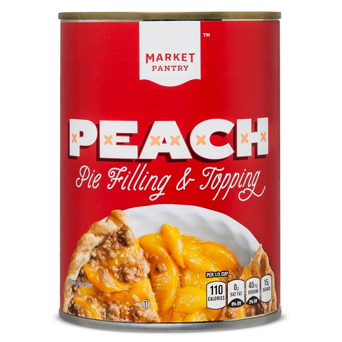 Peach Pie Filling - 21oz - Market Pantry™ - image 1 of 1