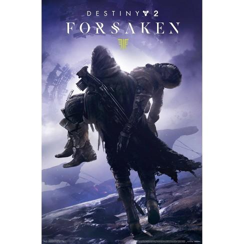 """34""""x23"""" Destiny 2 Forsaken Key Art Unframed Wall Poster Print - Trends International - image 1 of 2"""