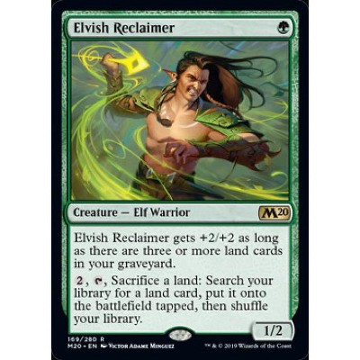 Elvish Reclaimer Magic Core Set 2020 The Gathering