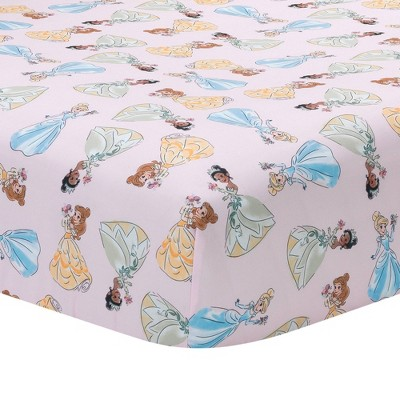 Lambs & Ivy Disney Baby Princesses Fitted Crib Sheet