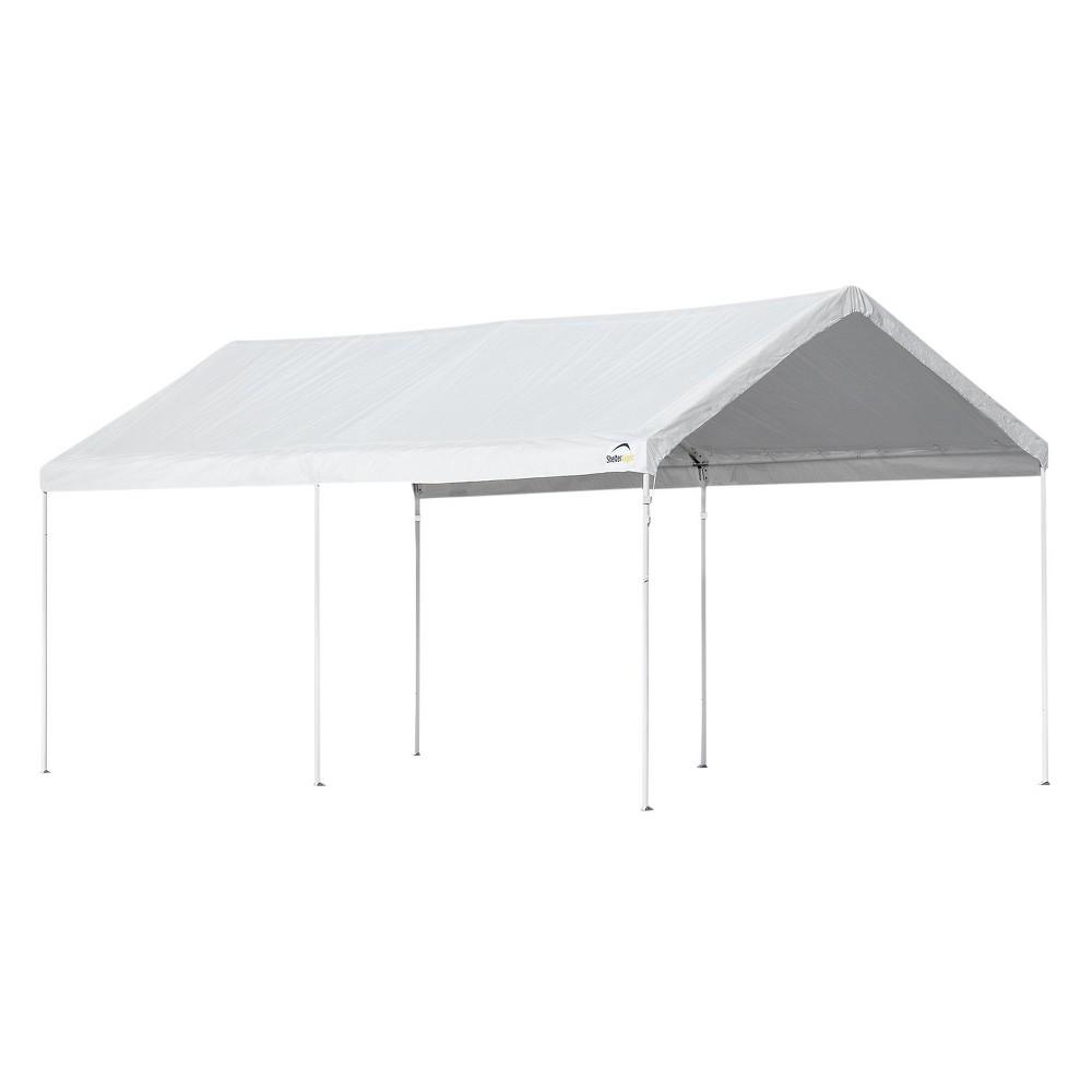 Accelaframe 10'X20' Canopy White 5 Oz. Fabric 8 Frame - Shelterlogic