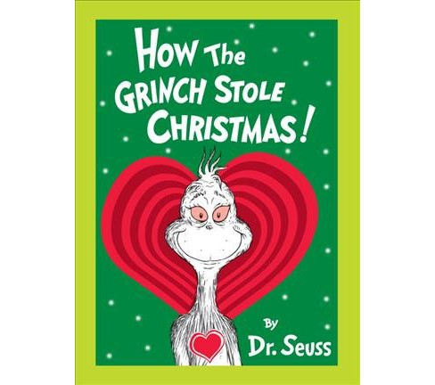 How the Grinch Stole Christmas : Grow Your Heart Edition (Hardcover) (Dr. Seuss) - image 1 of 1