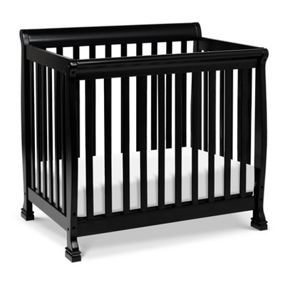 DaVinci Kalani 4-in-1 Convertible Mini Crib - Black