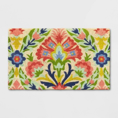 18 X30  Floral Tufted Doormat - Opalhouse™
