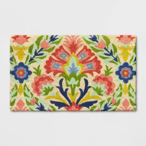 """18""""X30"""" Floral Tufted Doormat - Opalhouse™ - image 1 of 3"""