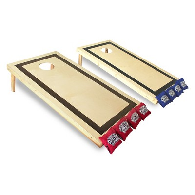 Paricon Traditional Wood Corn Toss Game - 2' x 4'