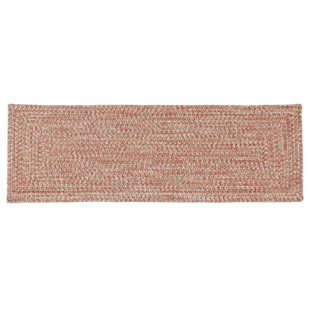 2 39 X10 39 Forest Tweed Braided Area Rug Pink Colonial Mills