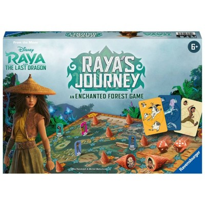 Ravensburger Disney Raya's Journey: An Enchanted Forest Family Board Game