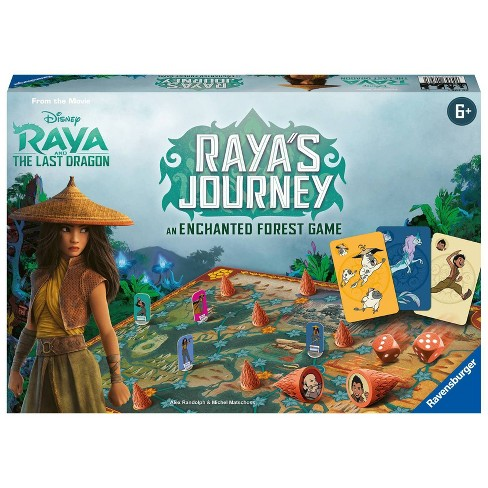Ravensburger Disney Raya's Journey: An Enchanted Forest Family Board Game - image 1 of 4