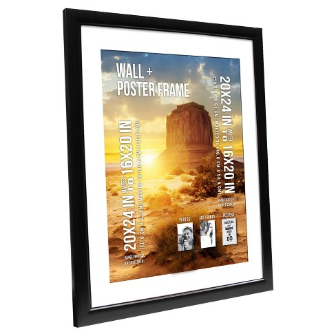 20x24 Poster Frame Black Room Essentials Target