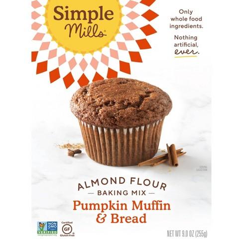 Simple Mills Gluten Free Pumpkin Muffin & Bread Almond Flour Baking  Mix - 9oz - image 1 of 4