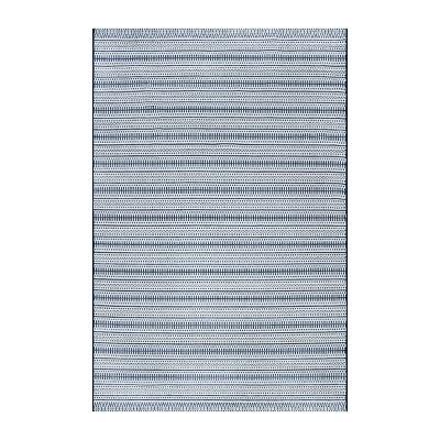 Pattern Stripe Outdoor Rug Blue - Threshold™
