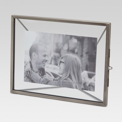"4"" x 6"" Thin Metal Frame Silver - Threshold™"