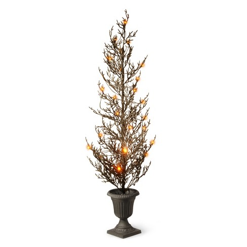 46in Halloween Tree with Lights - National Tree Company - image 1 of 1