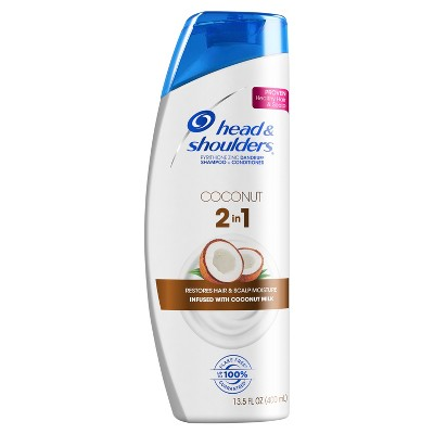 Shampoo & Conditioner: Head & Shoulders Coconut 2-in-1