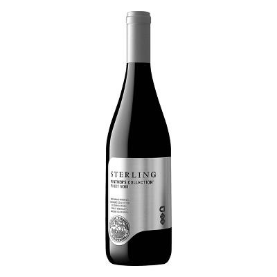 Sterling Vintner's Pinot Noir Red Wine - 750ml Bottle
