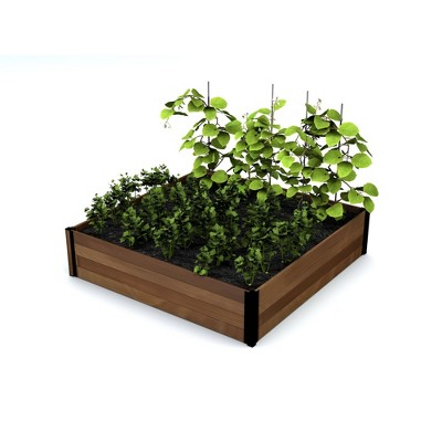Mezza Garden Bed Square Planter - Vita