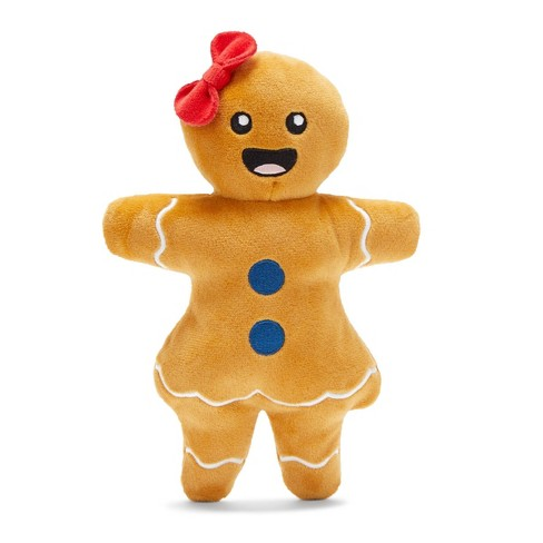 Bark Gingerboard Woman Dog Toy - image 1 of 4