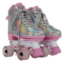 Circle Society Adjustable Skate Disco B Size 12-3, Girl's