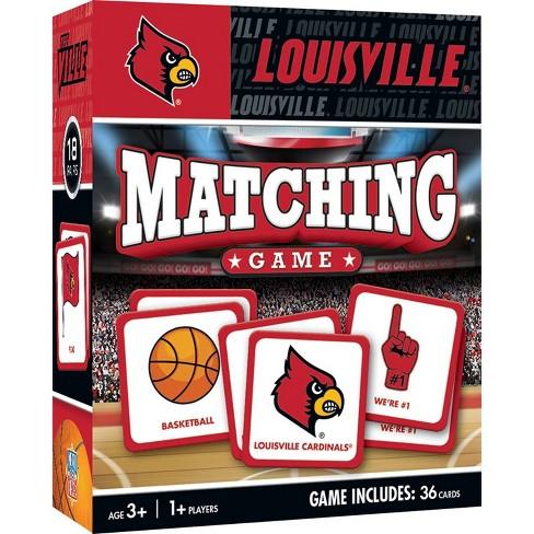 NCAA Louisville Cardinals Matching Game - image 1 of 2