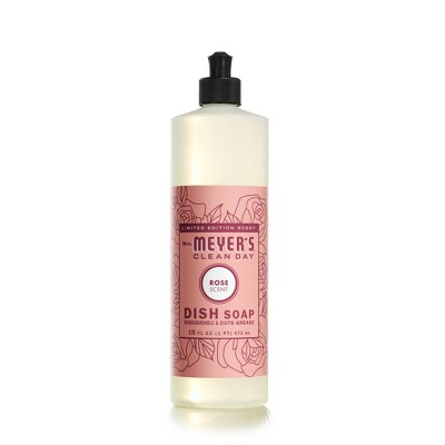 Mrs. Meyer's Clean Day Dish Soap - Rose - 16 fl oz