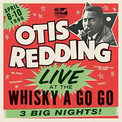 Otis Redding - Live At The Whisky A Go Go (Vinyl) - image 1 of 1