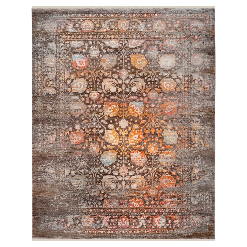 Vintage Persian Rug - Brown/Multi - (8'X10') - Safavieh