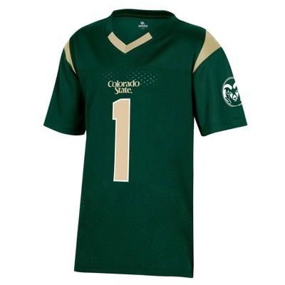 NCAA Colorado State Rams Boys' Short Sleeve Jersey