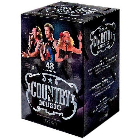 Panini Country Music Trading Card BLASTER Box [48 Cards!] - image 1 of 1