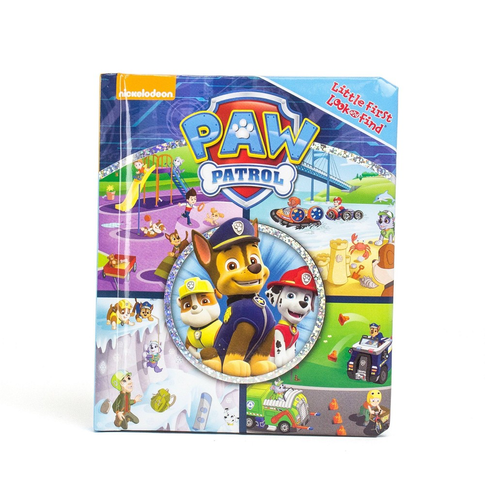 Little My First Look And Find Paw Patrol Board Book