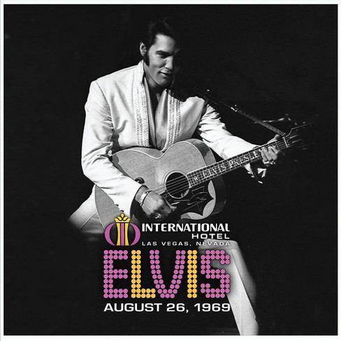 Elvis Presley - Live At The International Hotel, Las Vegas NV: August 26, 1969 (Vinyl) - image 1 of 1
