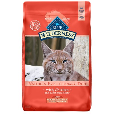 Cat Food: Blue Buffalo Wilderness Indoor Hairball & Weight Control