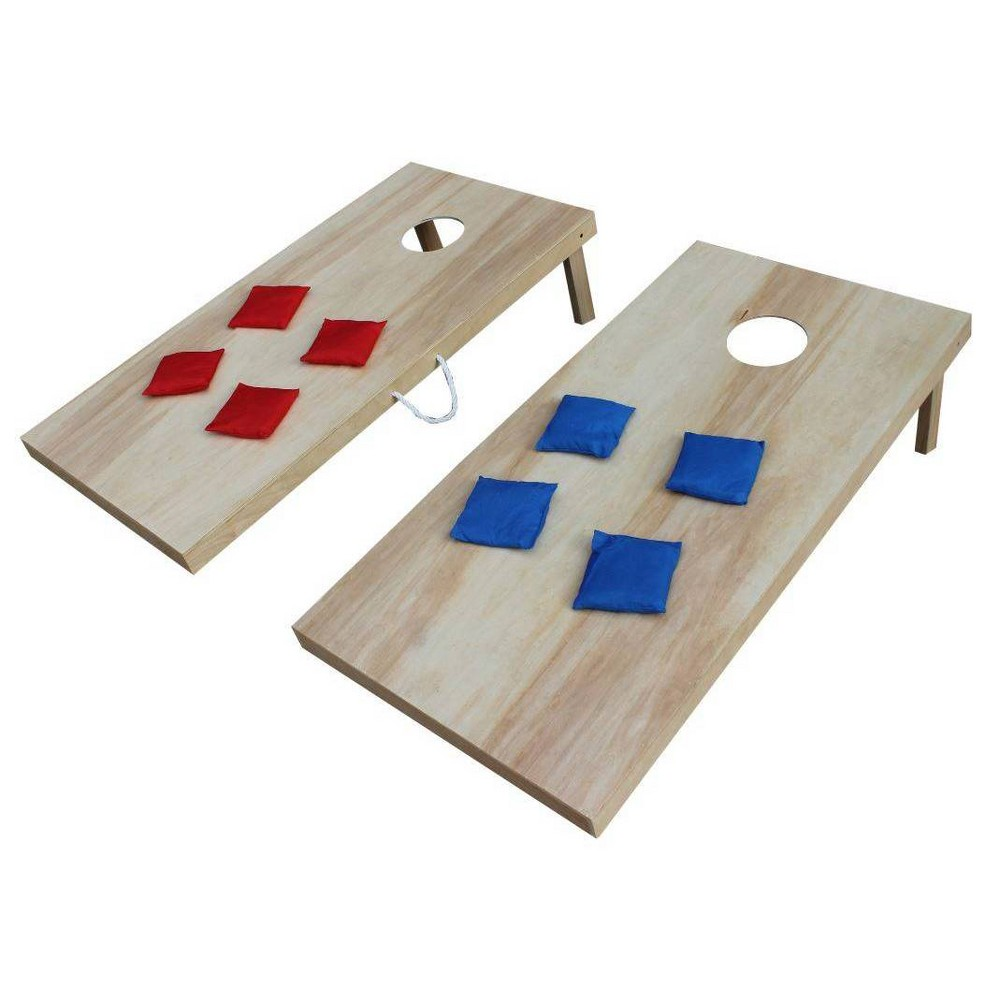Image of Triumph 2' x 4' Woodie Bean Bag Toss Set with 8 Bean Bags