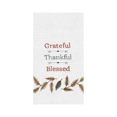 C&F Home Grateful,Thankful,Blessed Kitchen Towel