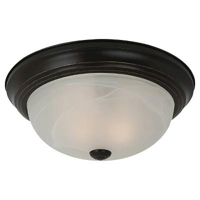 """4.5"""" Windgate One Light Ceiling Flush Mount Heirloom Bronze - Sea Gull Lighting"""