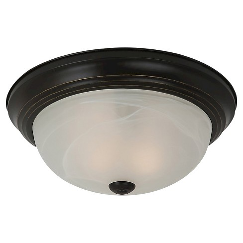 Sea Gull Lighting One Light Ceiling Fixture - Heirloom Bronze - image 1 of 2
