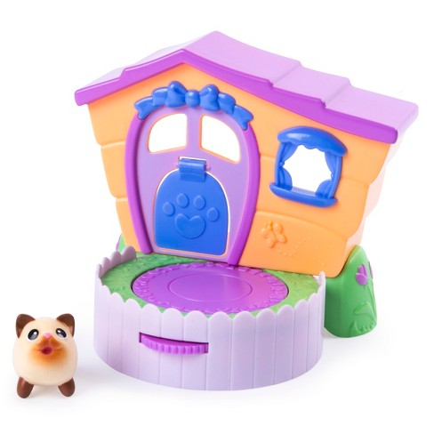 Chubby Puppies Friends 2 In 1 Flip N Play House Playset With