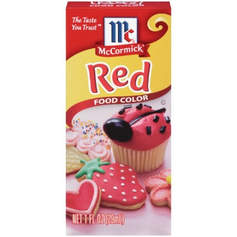 McCormick Red Food Color - 1oz