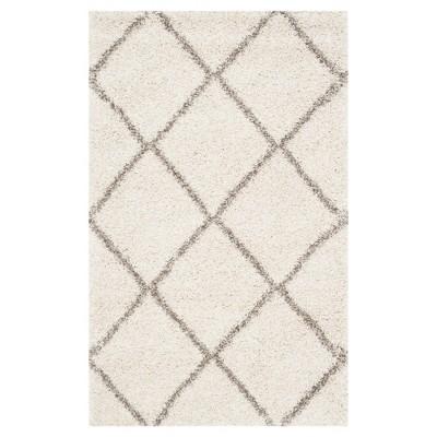 Hudson Shag Rug - Ivory/Gray - (3'X5')- Safavieh®