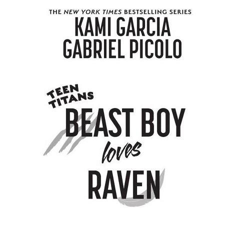 raven teen titans beast boy