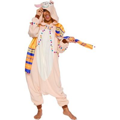 FUNZIEZ! Llama Adult Unisex Novelty Union Suit