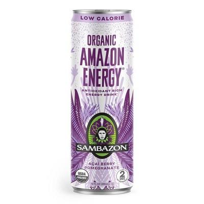 Sambazon Lo-Cal Energy Drink - 12 fl oz Can