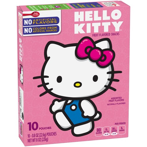 Hello Kitty Assorted Fruit Flavored Snacks - image 1 of 1