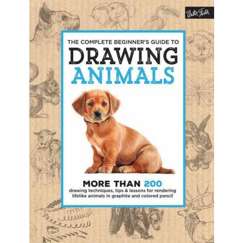 Complete Beginners Guide To Drawing Animals Hardcover Target