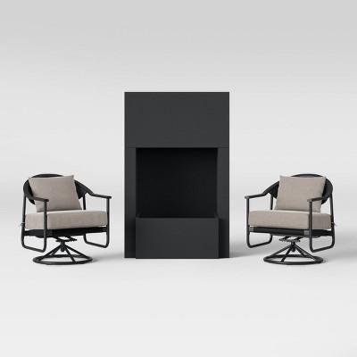 Dekker Patio Fire Seating Set - Project 62™