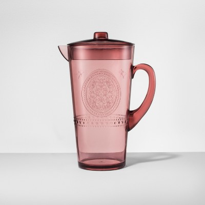 Plastic Beverage Pitcher 66oz Purple - Opalhouse™